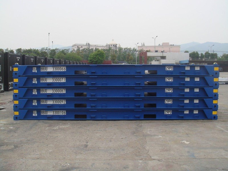 Bolster Shipping Container