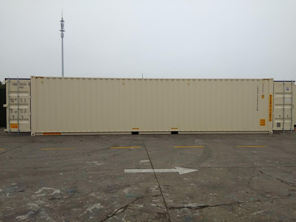 High Cube Double Door Shipping Containers