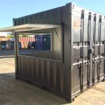 sea container modification canteen