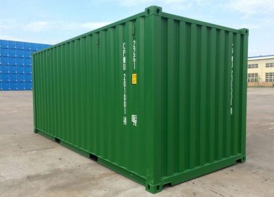 Sea container green