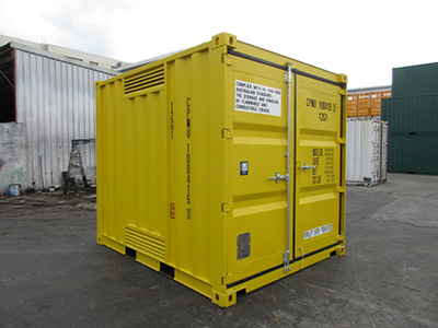 10 dangerous goods high cube sea container