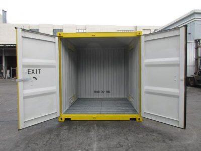 10 dangerous goods sea container