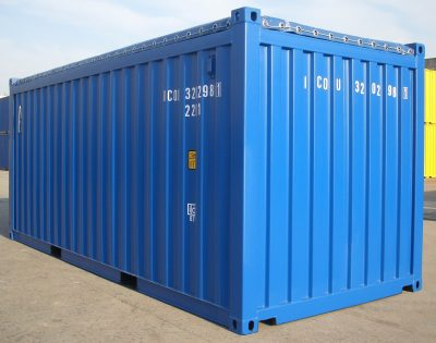 20 General Purpose open top Used Sea Container