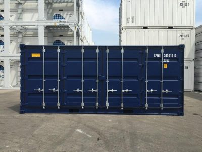 20 General Purpose side open Used Sea Container
