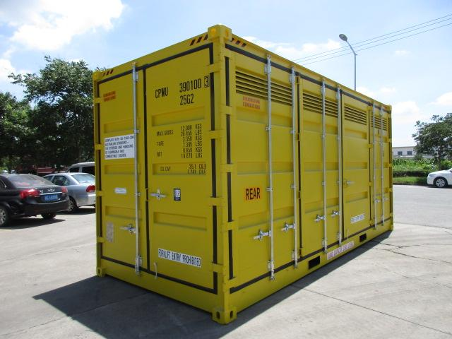 20 dangerous goods high cube sea container