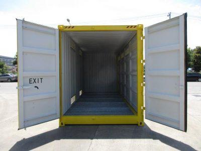 20 dangerous goods sea container