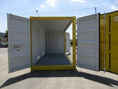 20 dangerous goods side open sea container