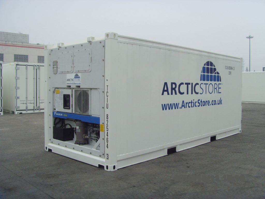 20 high cube refrigerated Used Sea Container