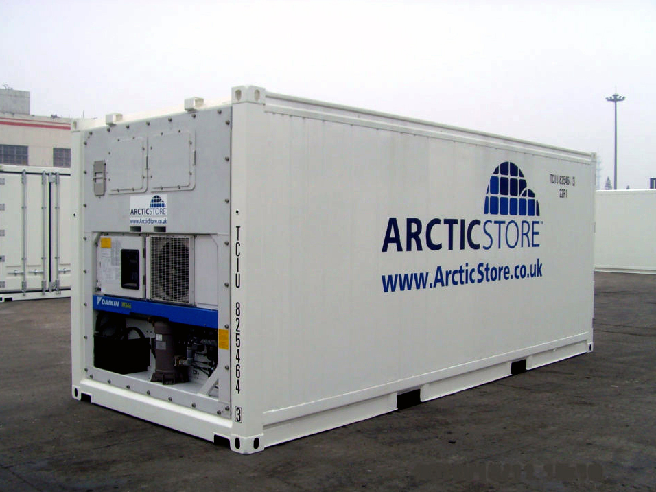 20 refrigerated high cube new sea container