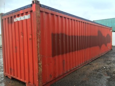 40 open top Used Sea Container