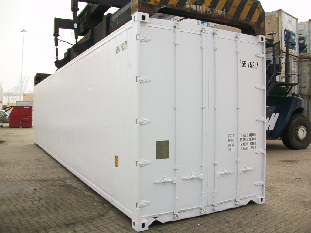 40 Insulated used sea container