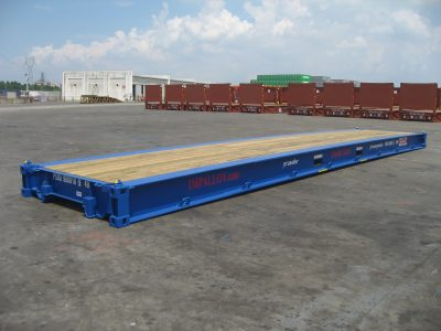 40 bolster used sea container