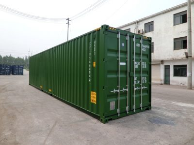 40 high cube sea container