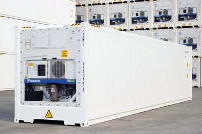 40 refrigerated high cube new sea container