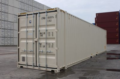 45 high cube sea container